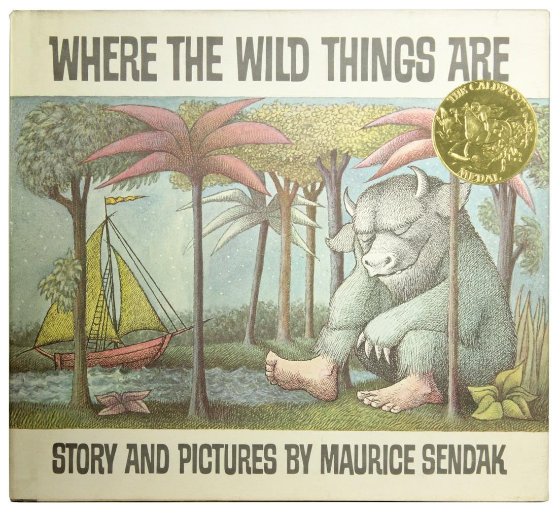 Where the Wild Things Are, Signed Maurice Sendak