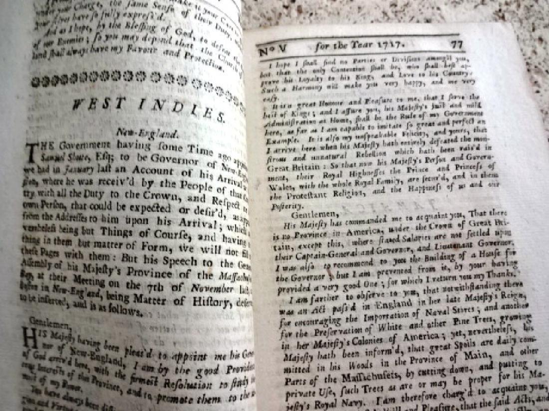 1717 Historical Register New-England Jamaica
