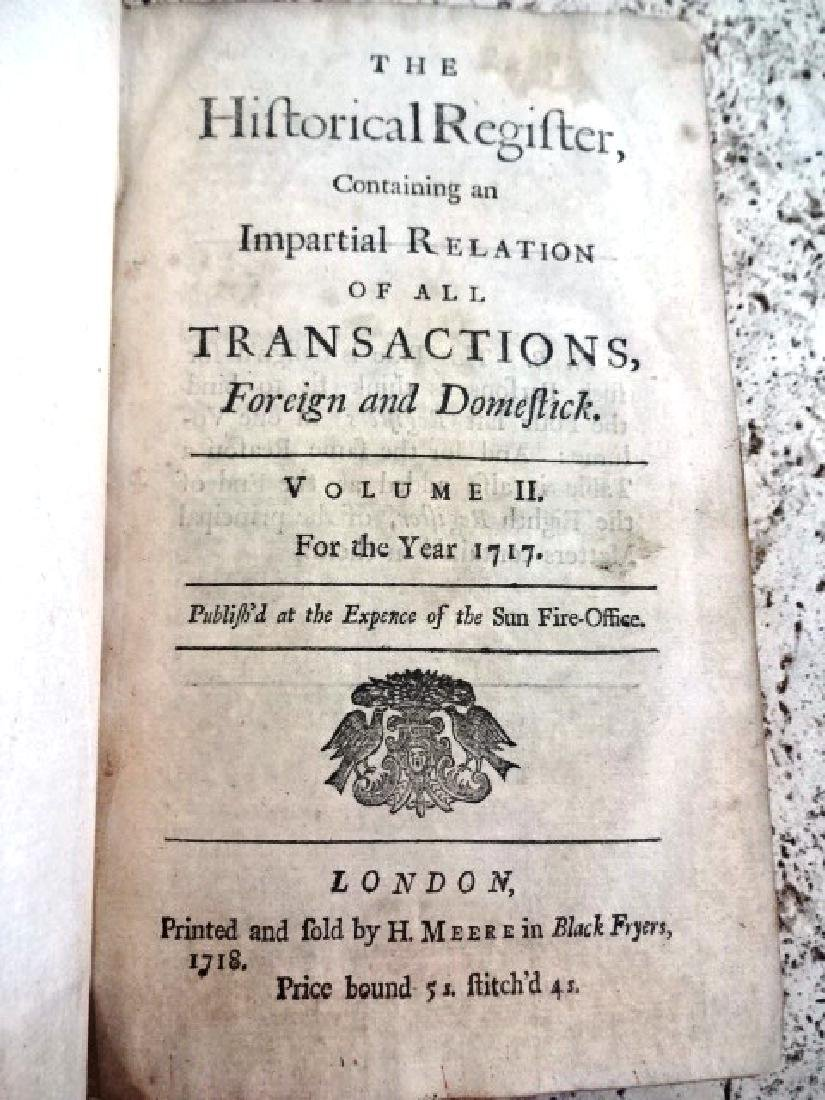 1717 Historical Register New-England Jamaica - 3