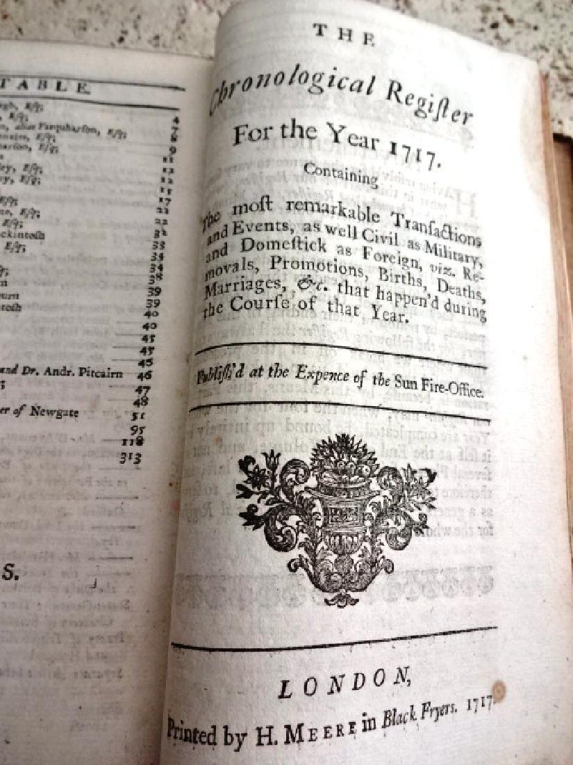 1717 Historical Register New-England Jamaica - 4