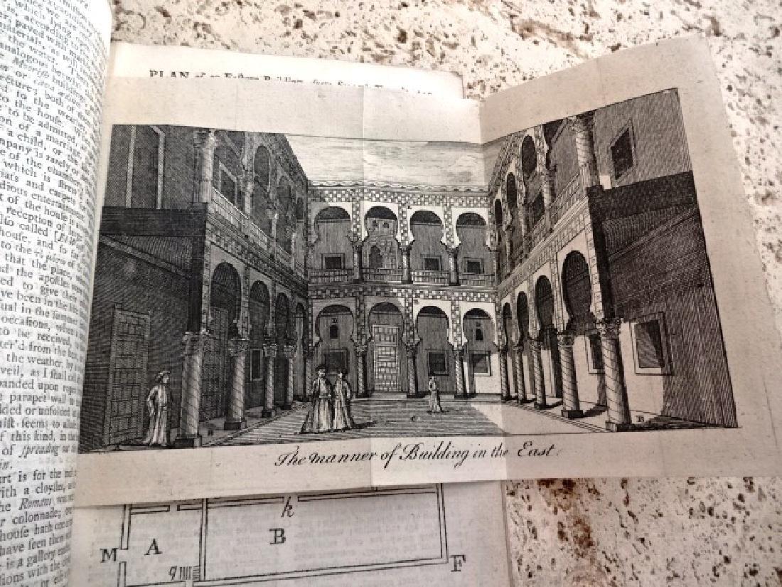 1758 Magazine Engraving Shaw's Travels Morocco Slaves