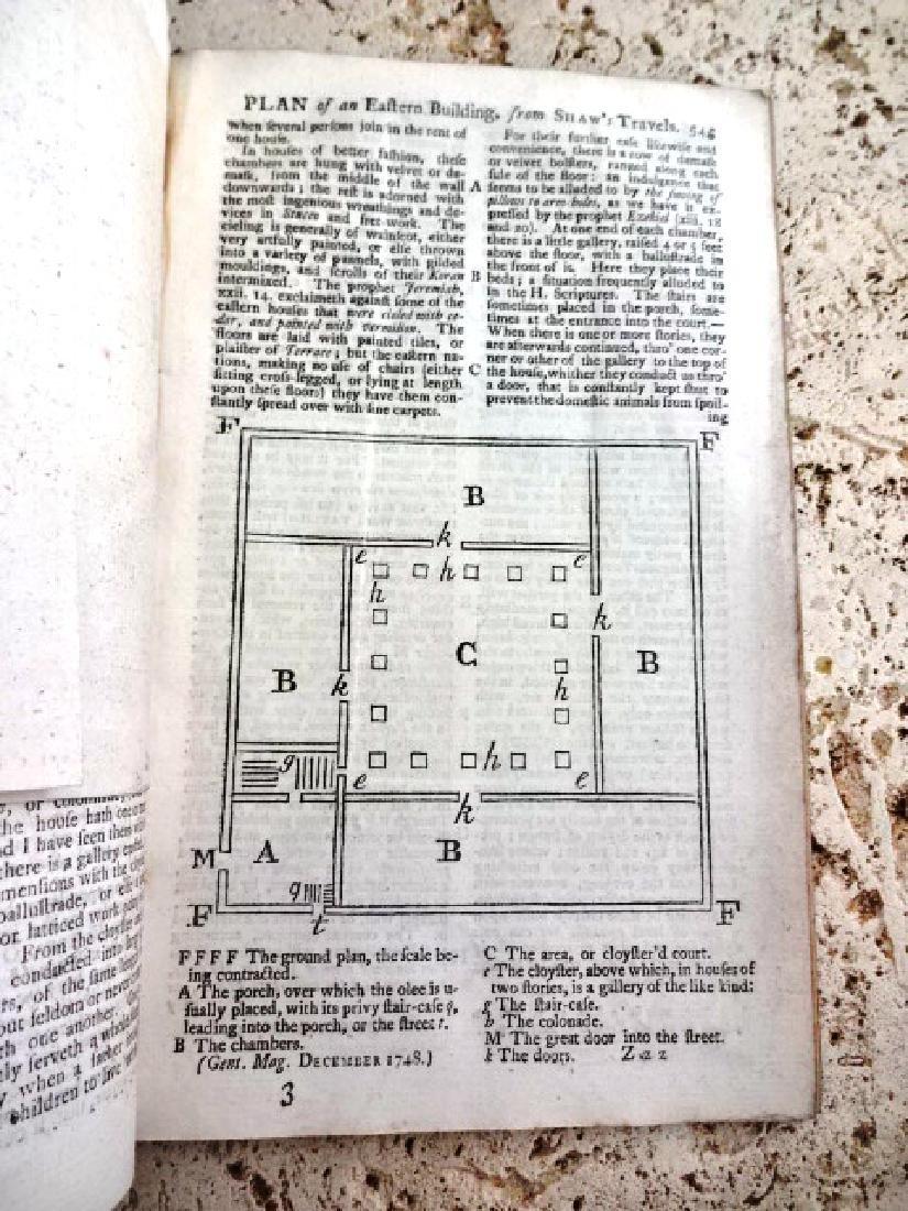 1758 Magazine Engraving Shaw's Travels Morocco Slaves - 2