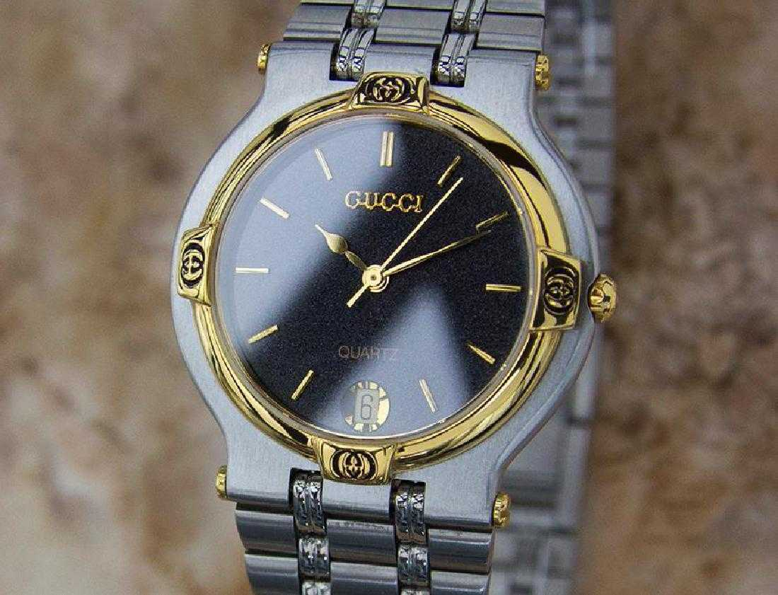 9c6366374ab Gucci 9000M Swiss Made Stainless Steel Men s Luxury