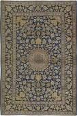 Vintage Persian Kashan Rug 4.5x6.10