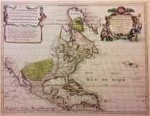 North America by De L'isle