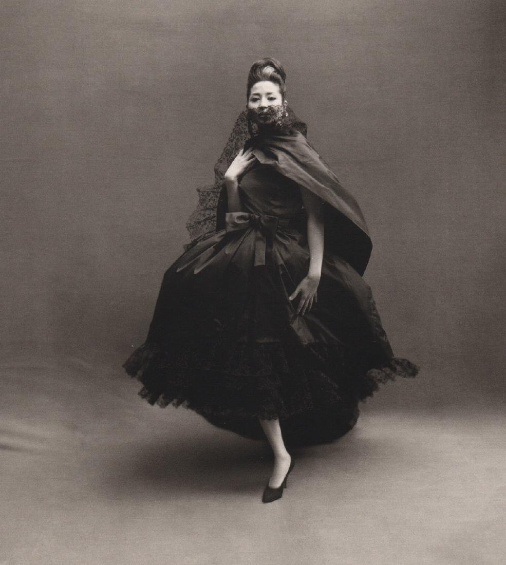RICHARD AVEDON - China Machado in Dior