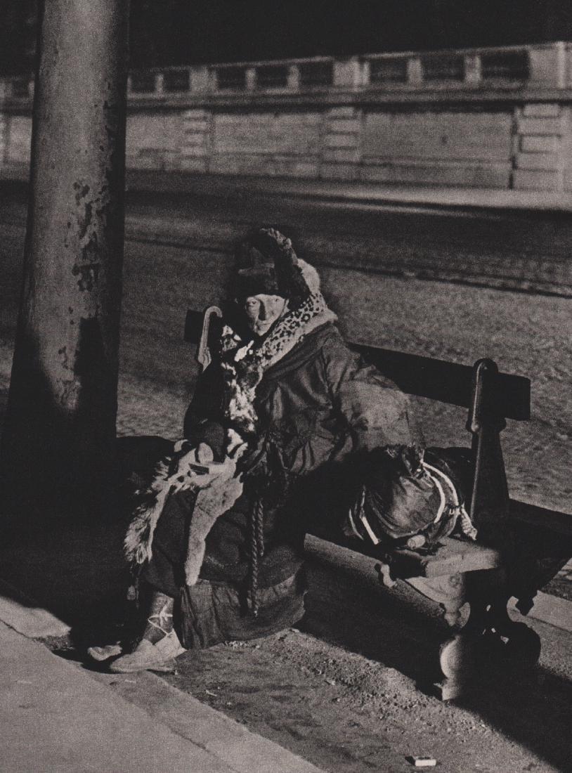 BRASSAI - A Spectral Beggarwoman