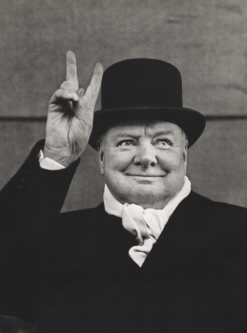 ALFRED EISENSTAEDT - Winston Churchill