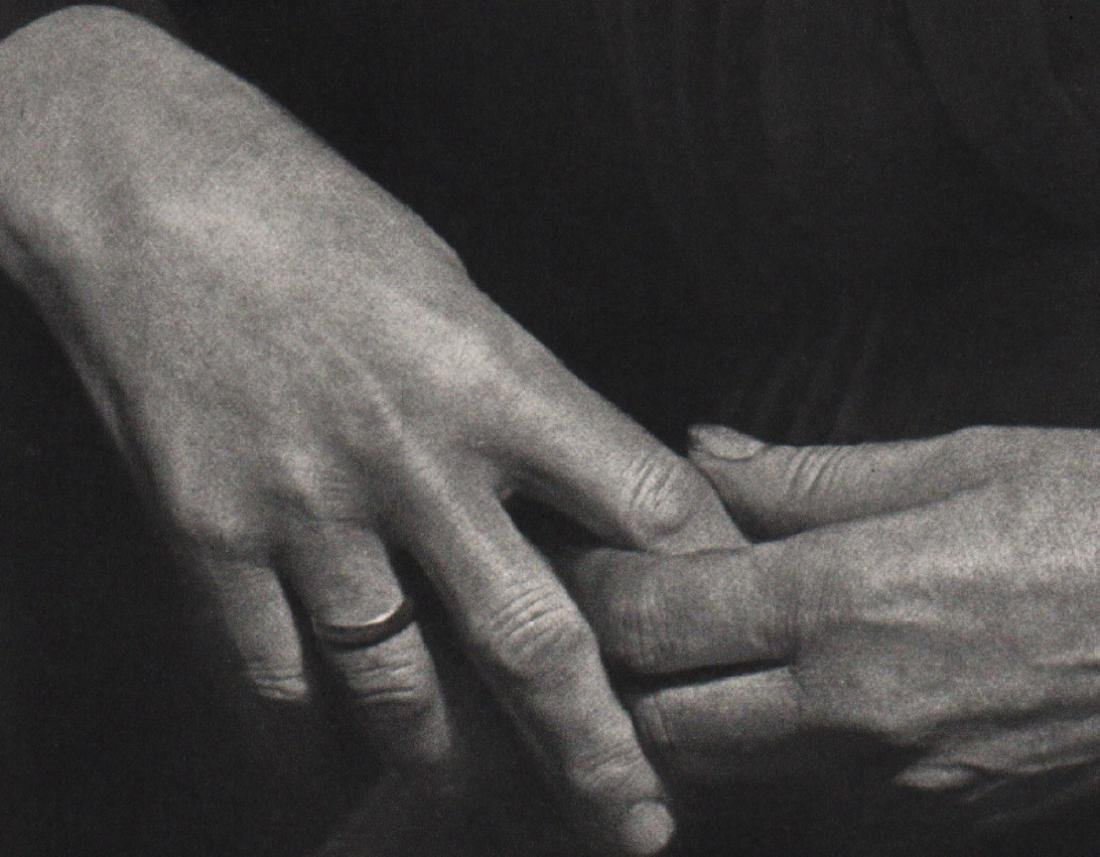 ANDRE KERTESZ - My Mother's Hands