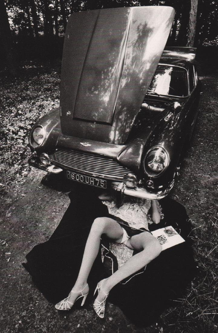 JEANLOUP SIEFF - Under the Carriage, Paris 1975