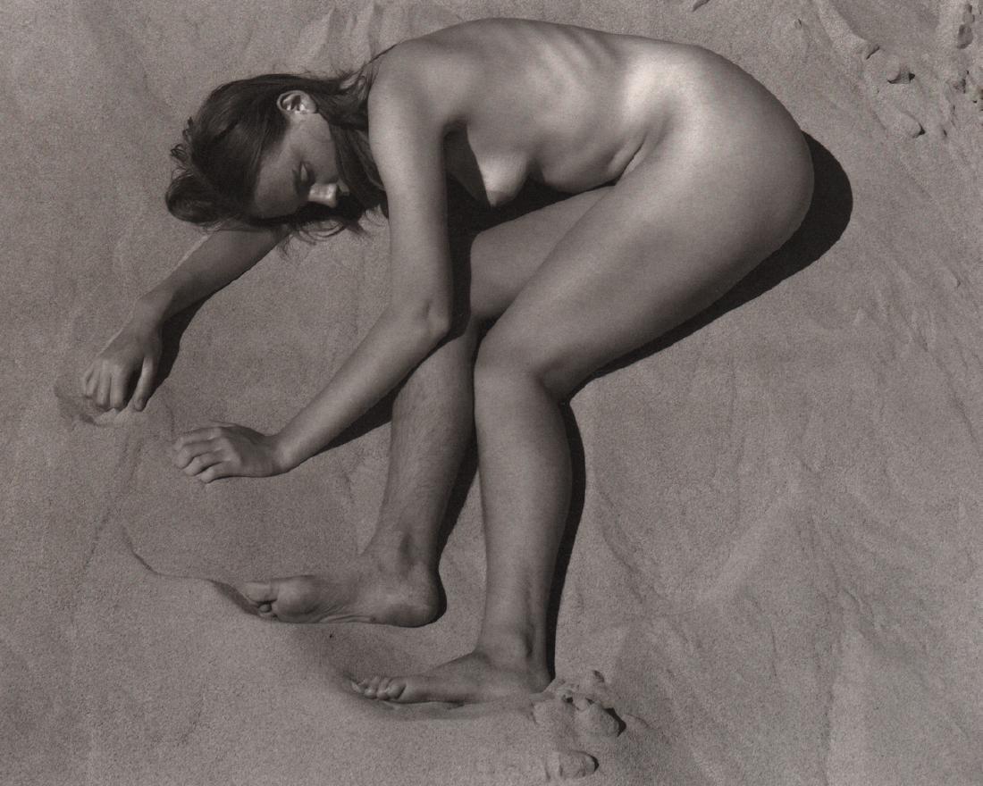 EDWARD WESTON - Charis on the Dunes