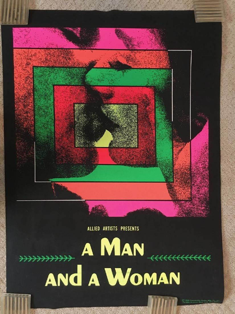 A Man and a Woman Blacklight - 1968 - Personality