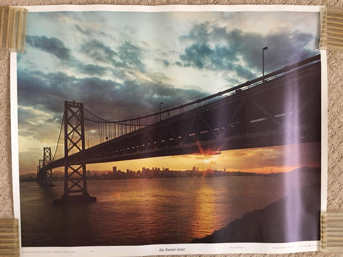 Travel Poster - San Fran Sunset - 1969 - Celestial arts