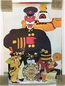 EXTREMELY RARE - LOT of 3 BEATLES YELLOW SUBMARINE
