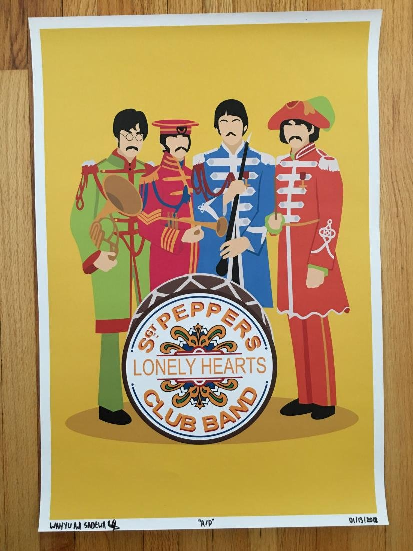 FIRST TIME OFFERED IN THE USA - SGT. PEPPERS - ARTIST