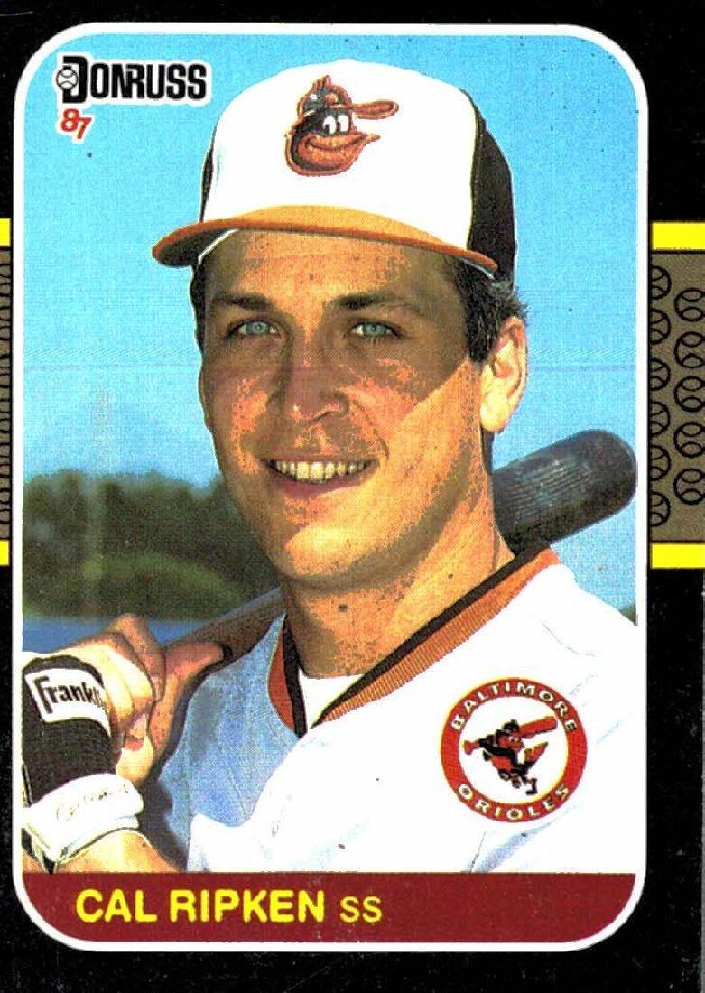 1987 Donruss Cal Ripken Jr