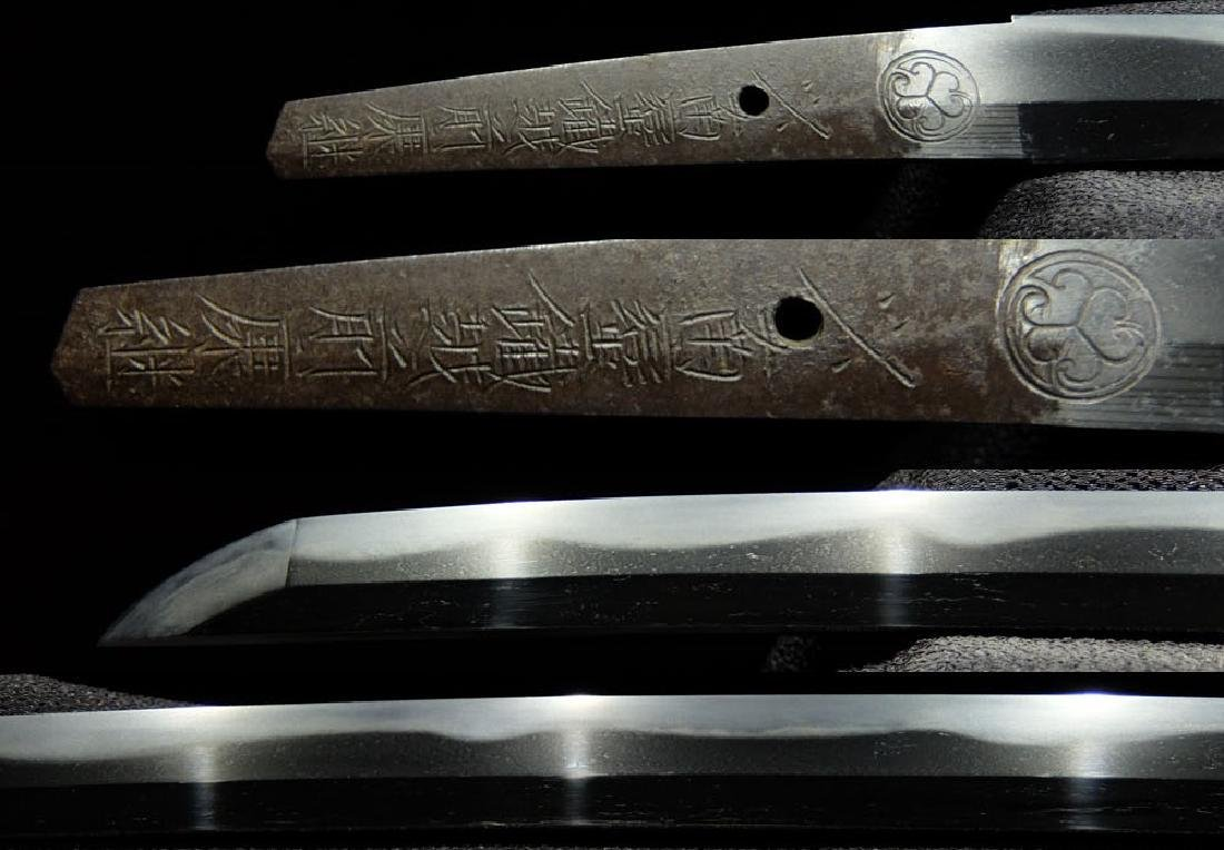 Original Japanese Wakizashi sword from Tokugawa family - 4