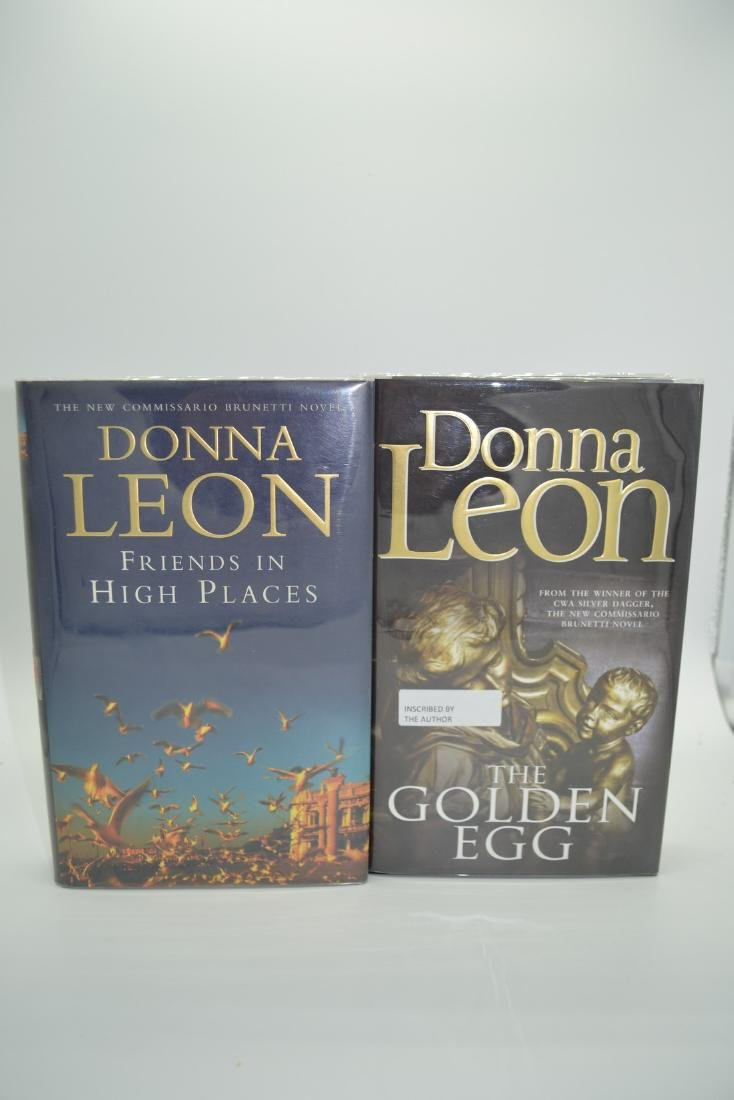 The Golden Egg and Friends in High Places- signed Leon,