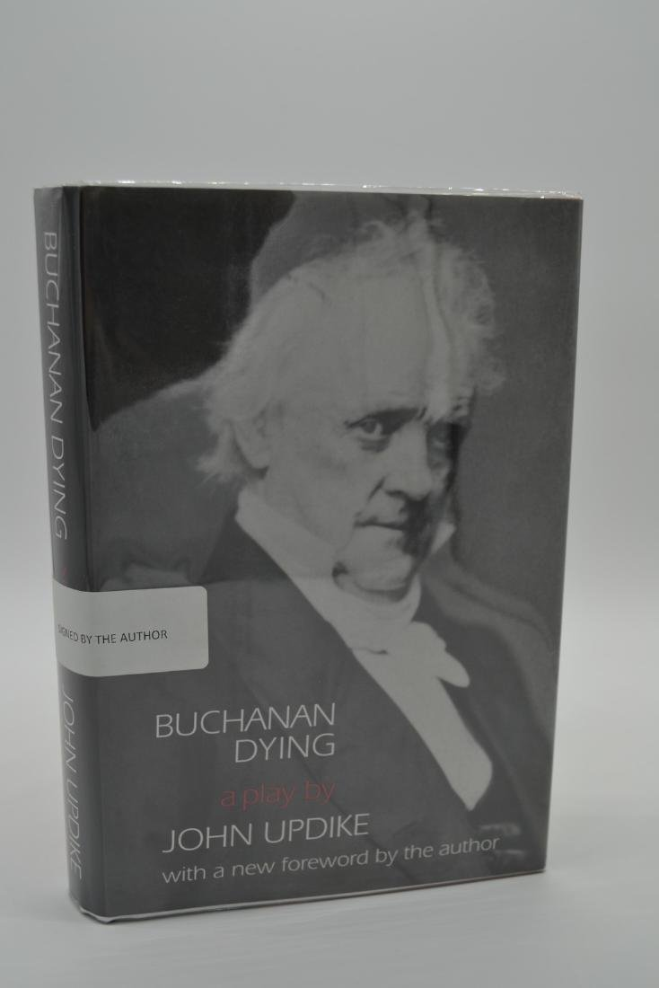 Buchanan Dying -signed Updike, John