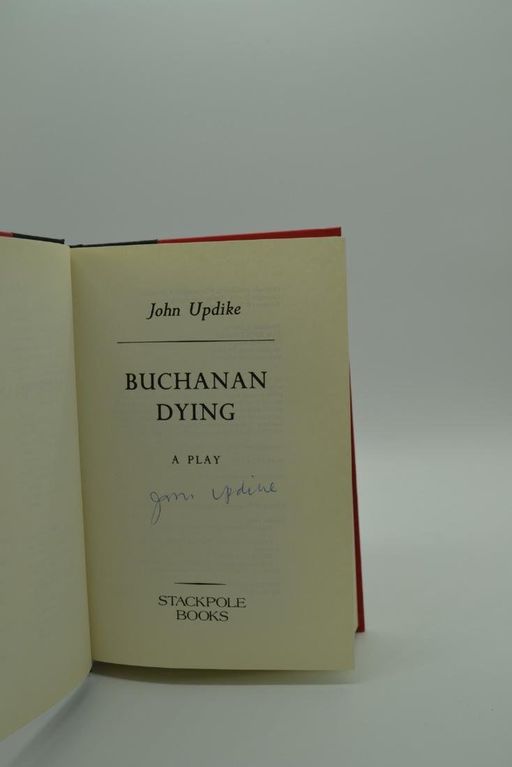 Buchanan Dying -signed Updike, John - 3