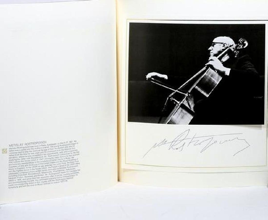 The concert of the Century at Carnegie Hall. Signed - 7