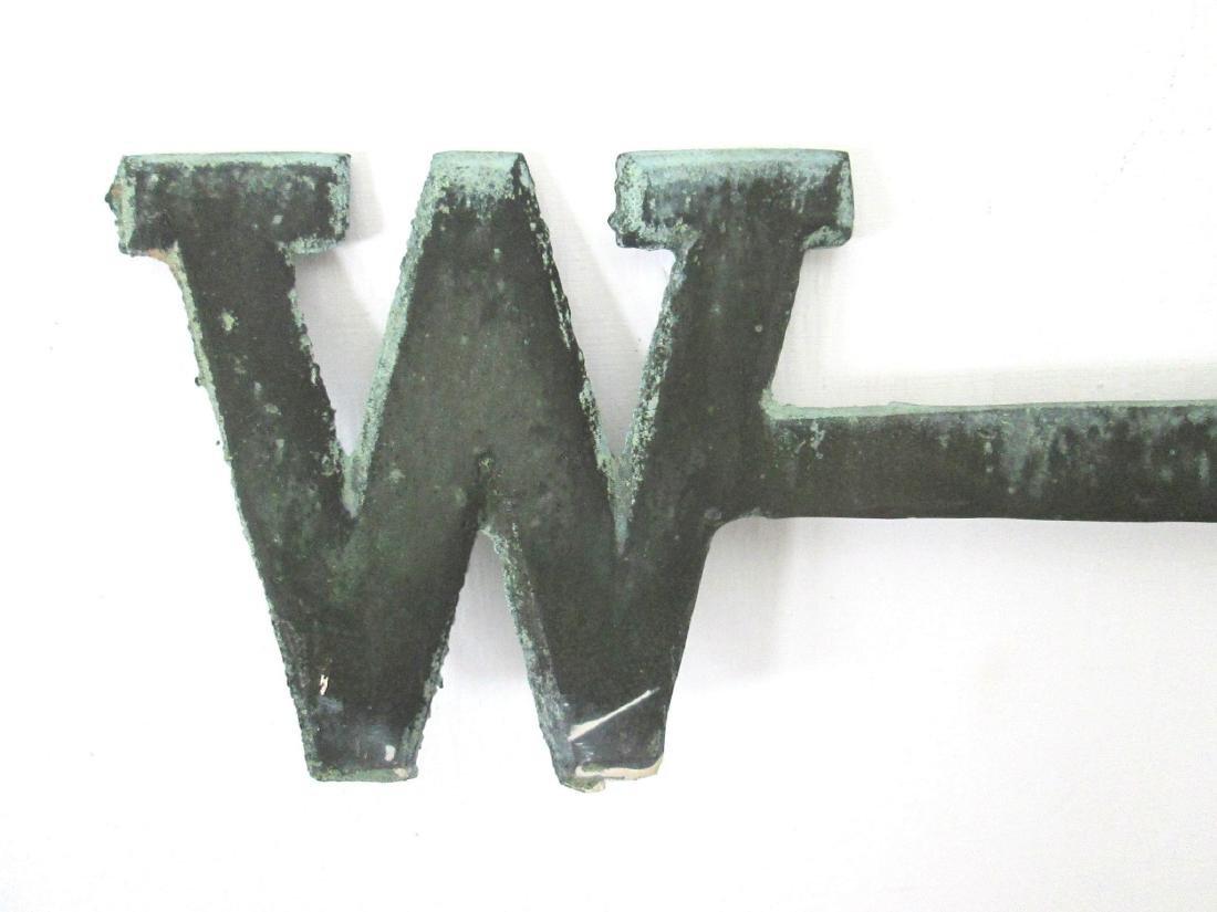 Vintage Weathervane Directionals - 9