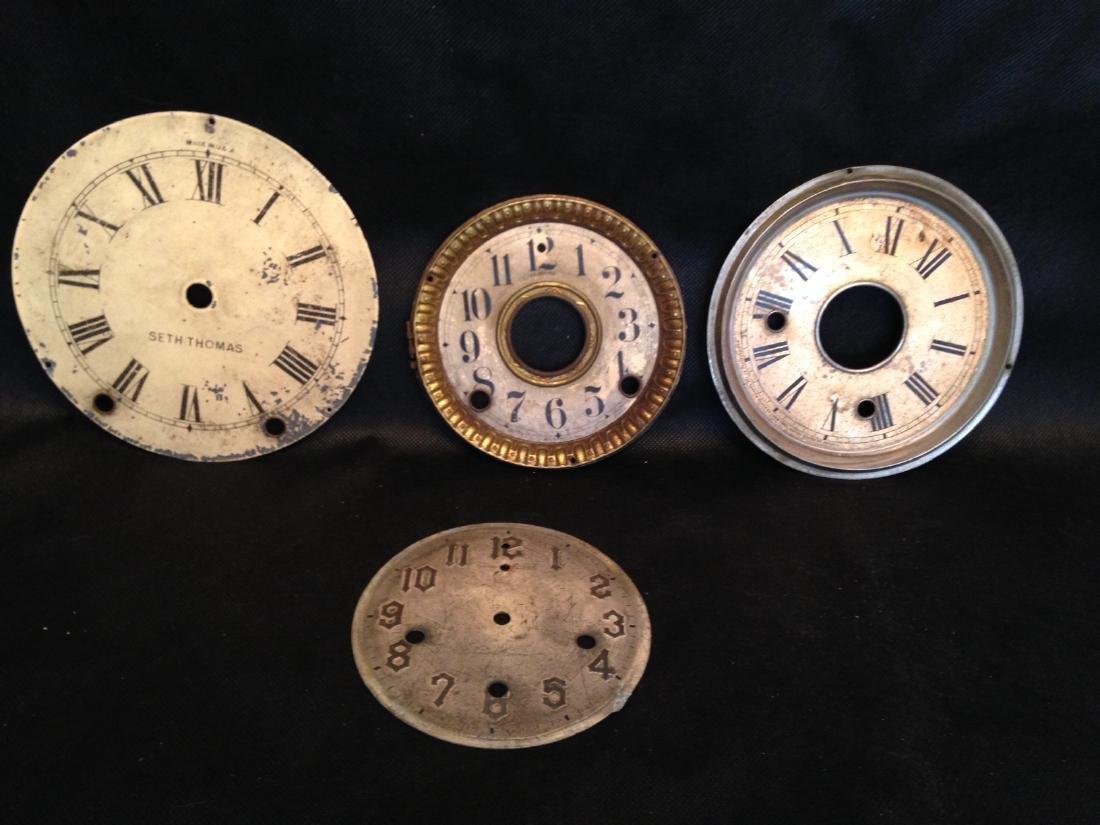 Four Clock Faces