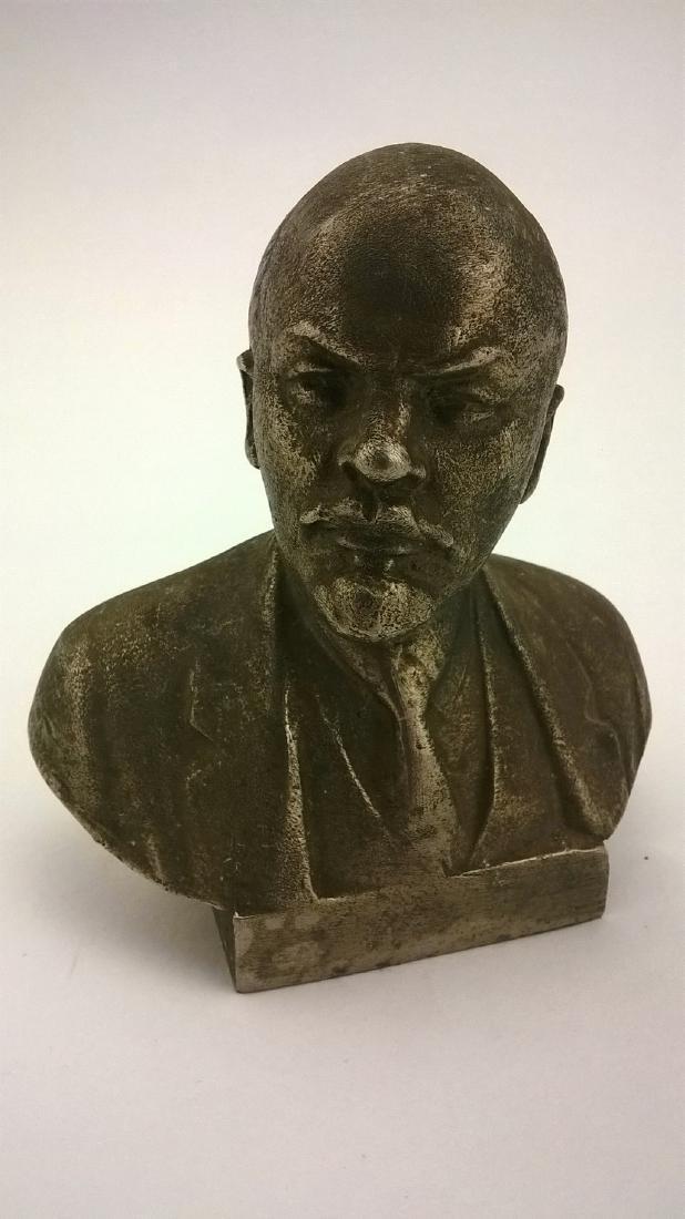 Old sculpture Statue Russian revolutionary of V.I. - 2