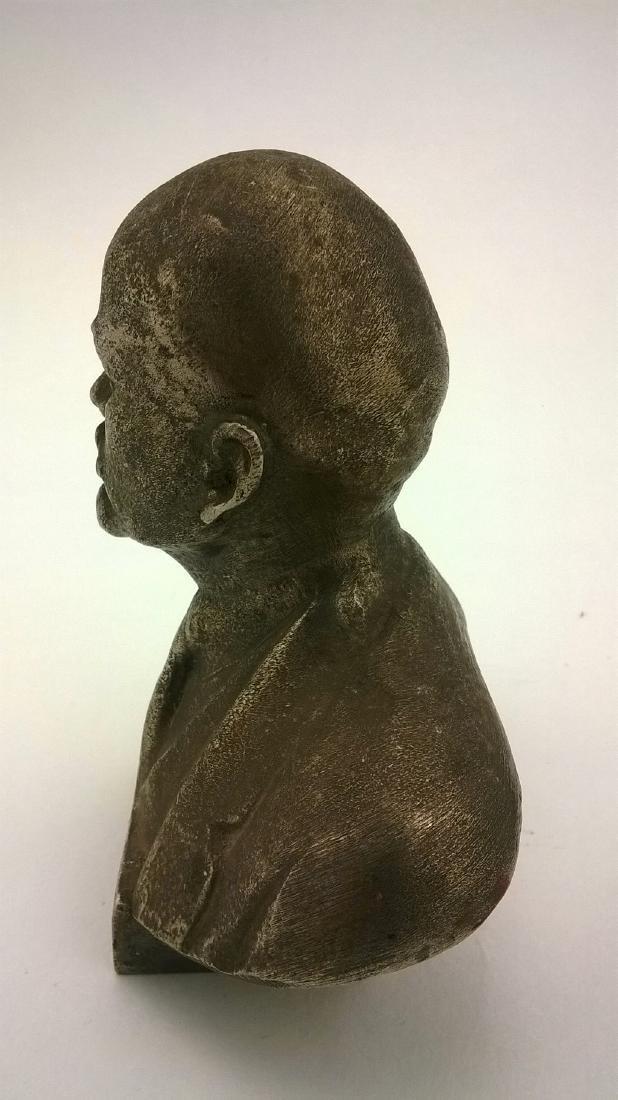 Old sculpture Statue Russian revolutionary of V.I. - 6