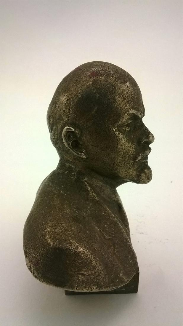 Old sculpture Statue Russian revolutionary of V.I. - 8