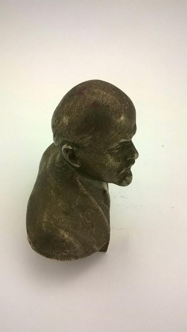 Old sculpture Statue Russian revolutionary of V.I. - 9