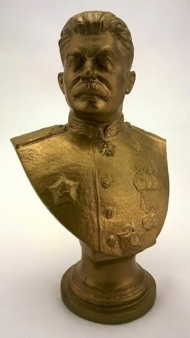 Bust - JV Stalin. Russian revolutionary, Soviet