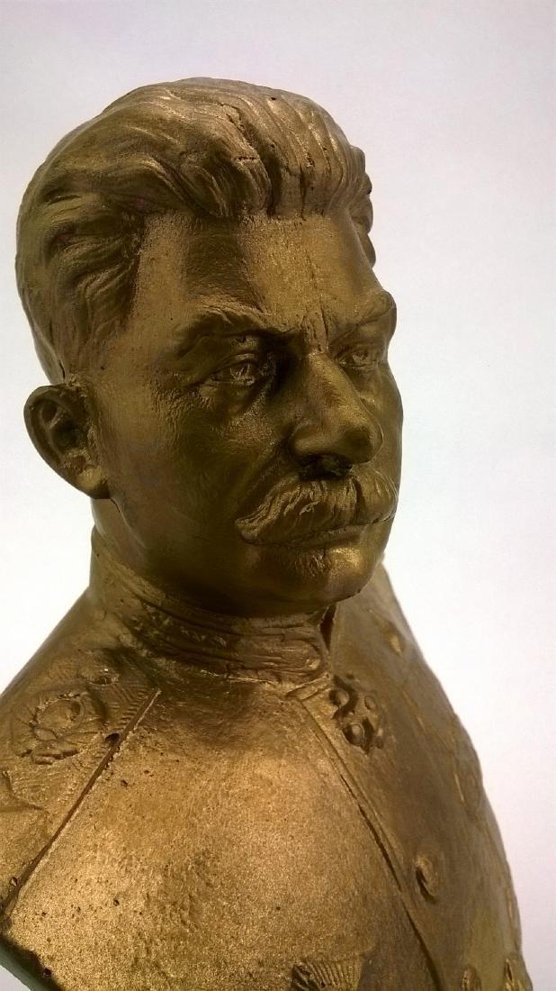 Bust - JV Stalin. Russian revolutionary, Soviet - 3