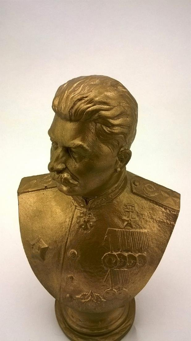 Bust - JV Stalin. Russian revolutionary, Soviet - 9
