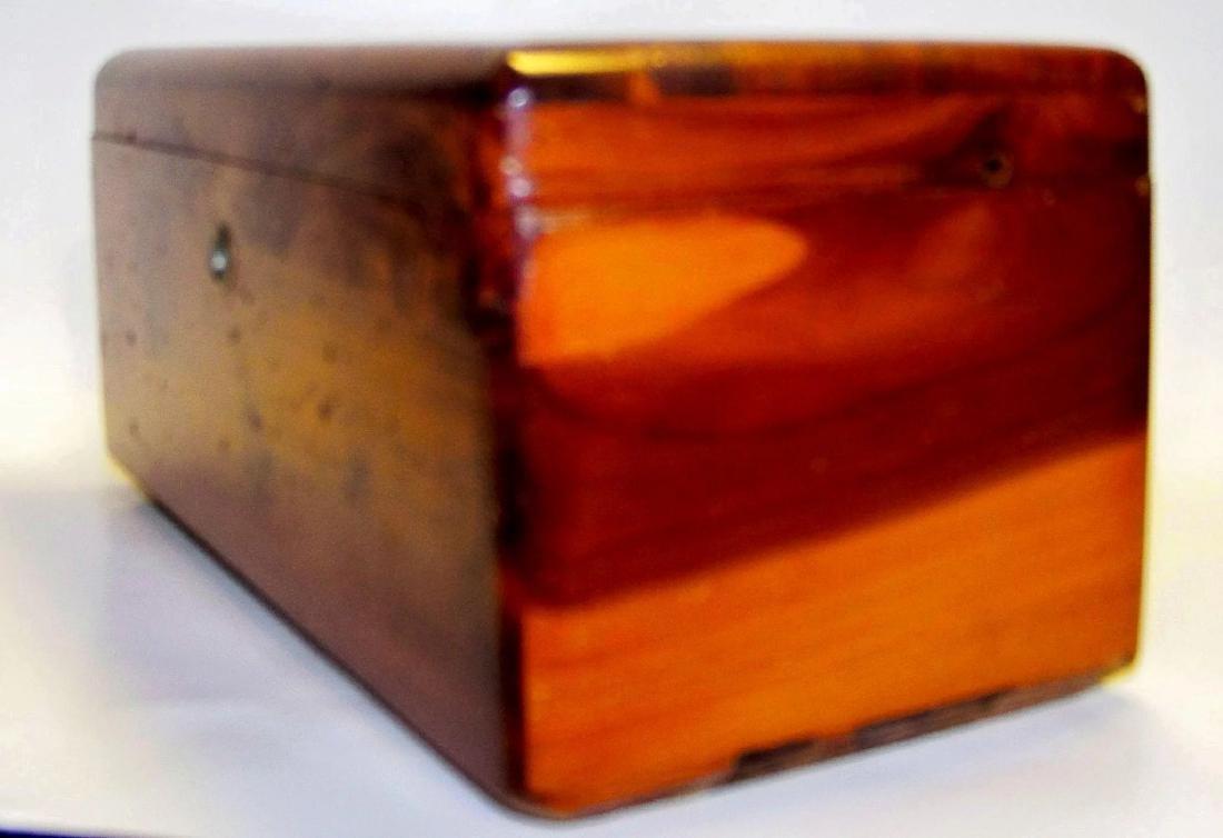 Vintage Lane Cedar Wood Jewelry Box - 2