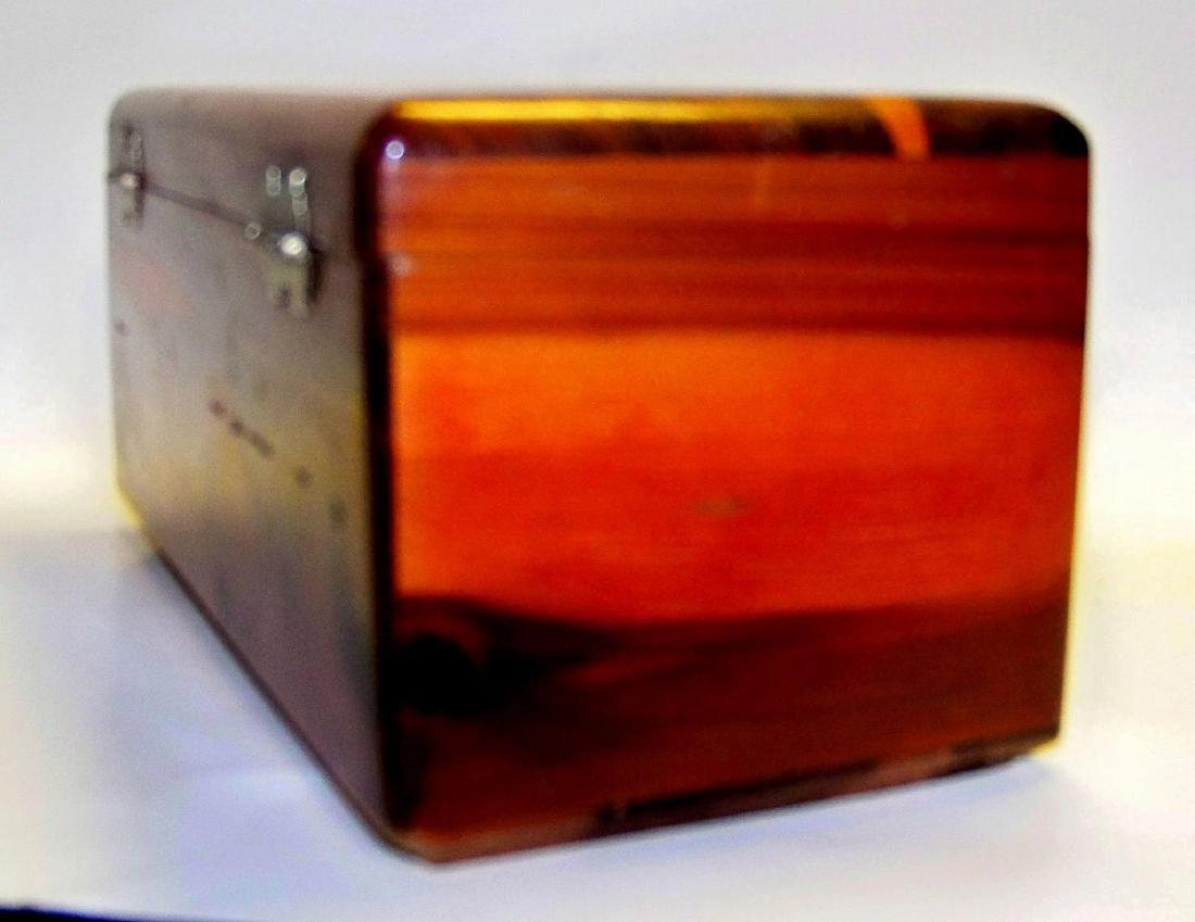 Vintage Lane Cedar Wood Jewelry Box - 4