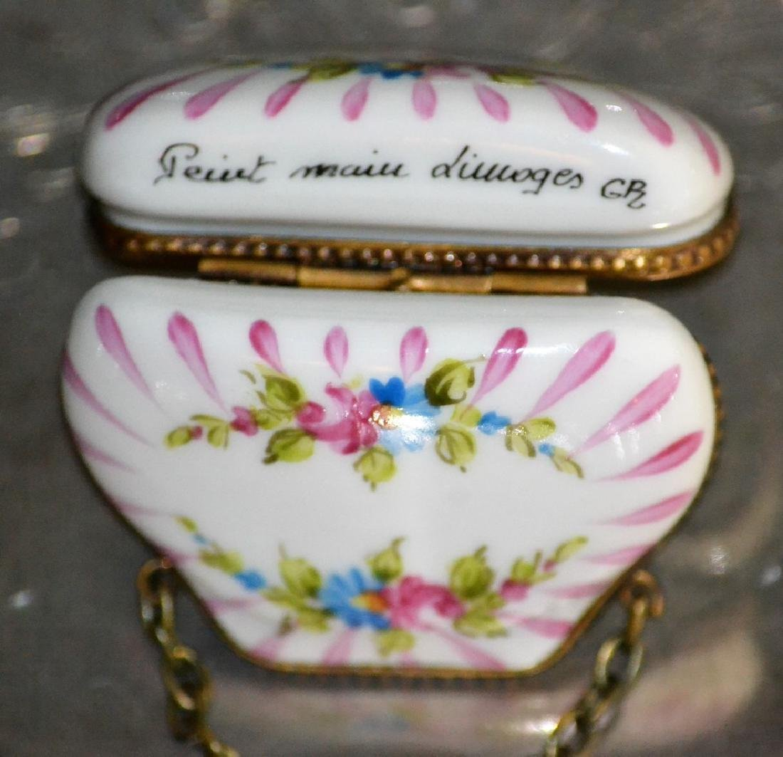 Limoges Flowered Chest