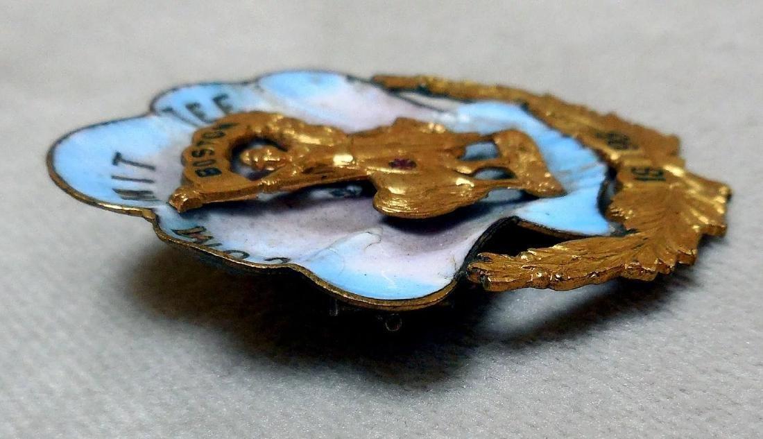 Antique Knights Templar Pin, 1895 - 2