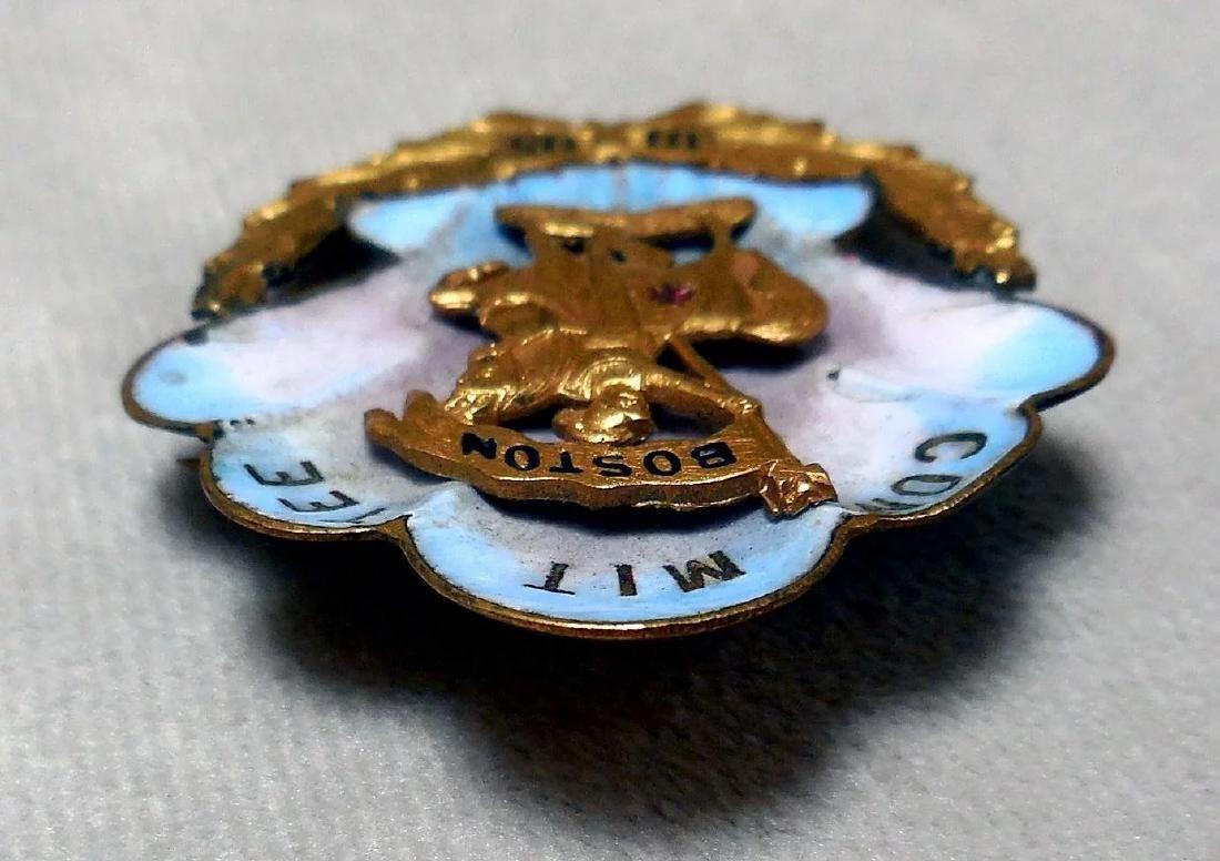 Antique Knights Templar Pin, 1895 - 6
