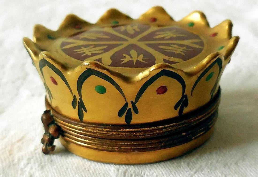 Limoges Trinket, Snuff Box - 3