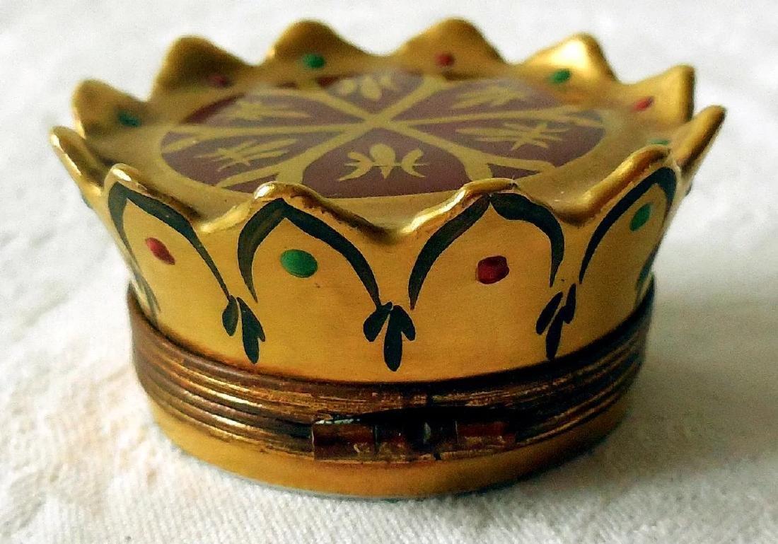 Limoges Trinket, Snuff Box - 4