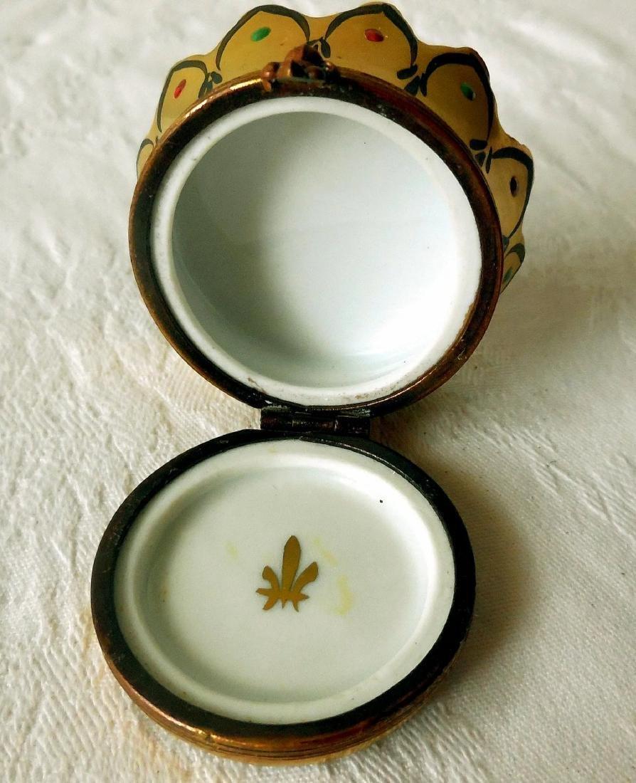 Limoges Trinket, Snuff Box - 6