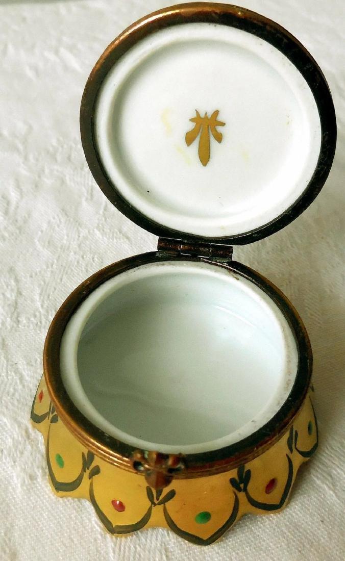 Limoges Trinket, Snuff Box - 7