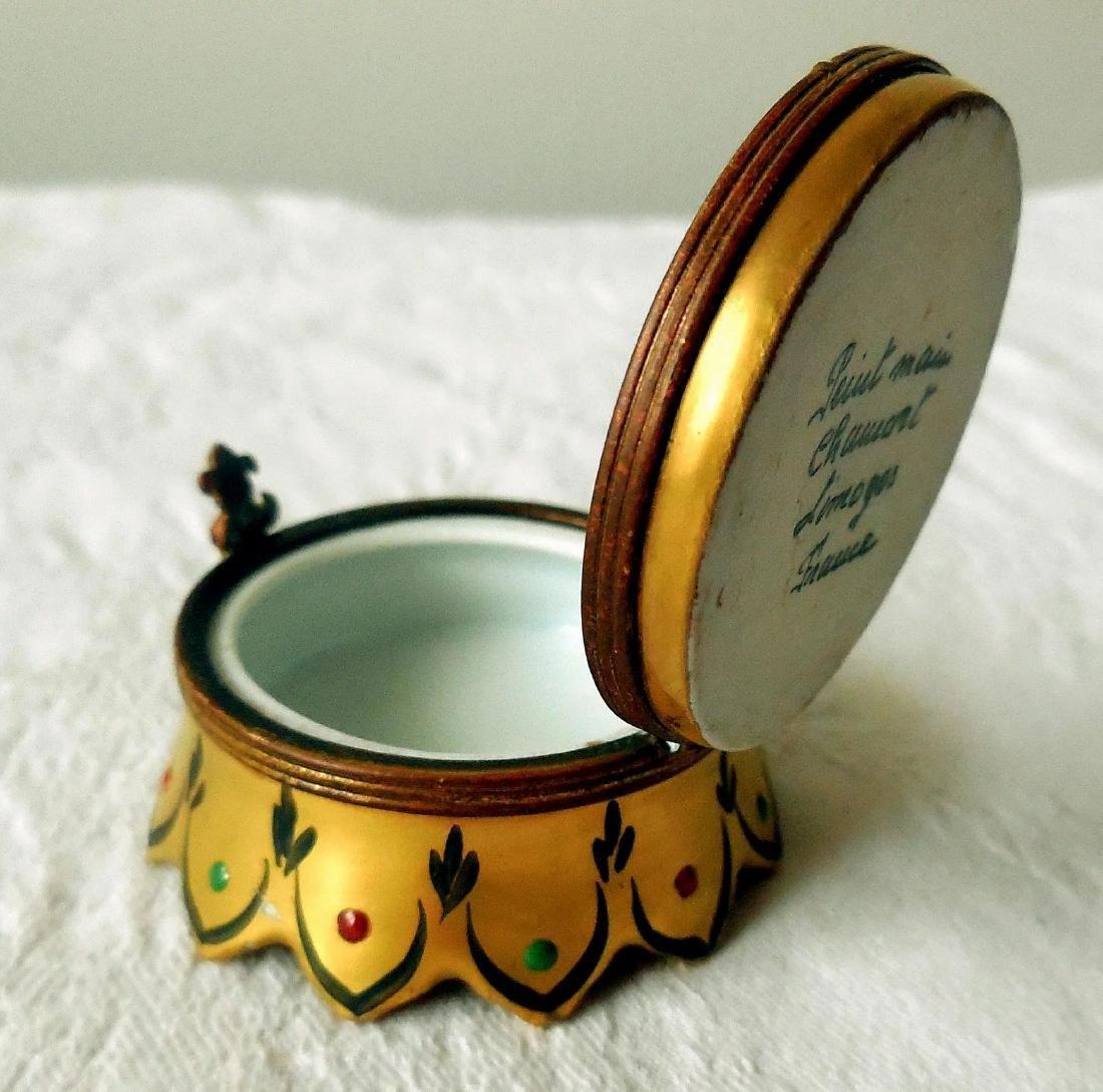 Limoges Trinket, Snuff Box - 8