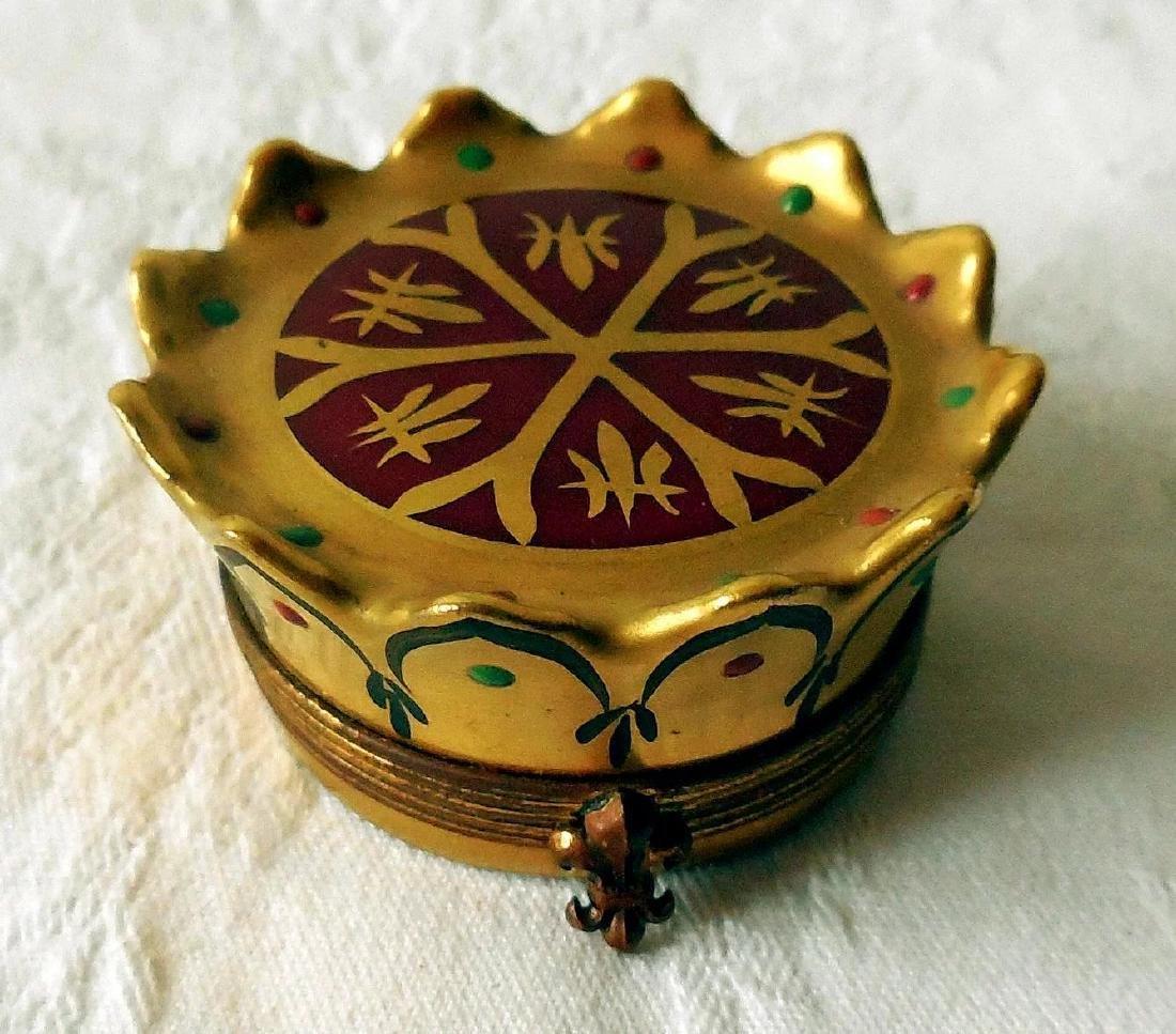 Limoges Trinket, Snuff Box - 9