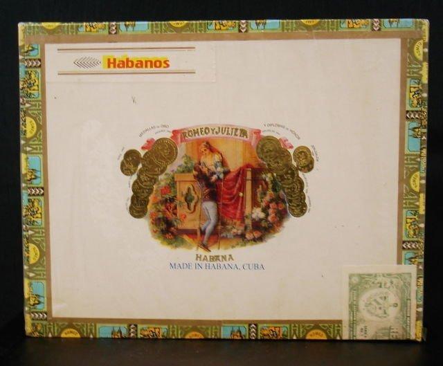 Romeo & Julieta, Handmade Churchils Cigars 25 x