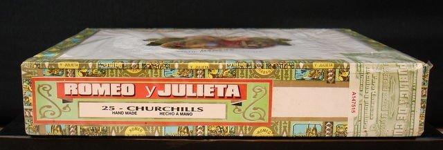 Romeo & Julieta, Handmade Churchils Cigars 25 x - 2