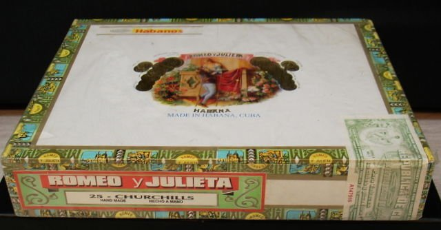 Romeo & Julieta, Handmade Churchils Cigars 25 x - 3
