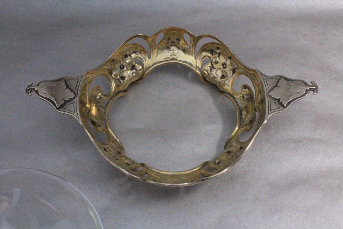 Gorham Athenic Art Nouveau Sterling Silver Bowl - 6