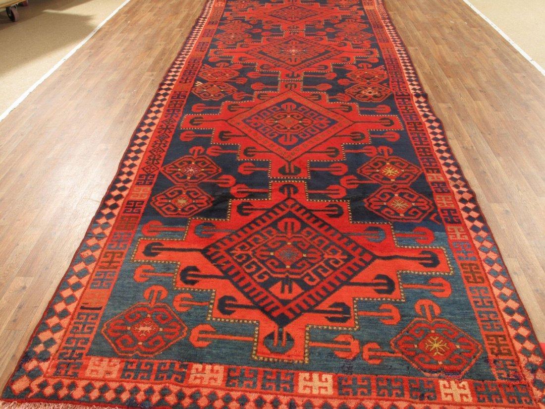 Antique Persian Hamadan Rug 5.10x15.5